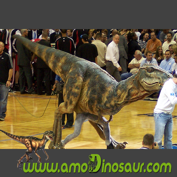 T rex dinosaur costume with swift and agile movement