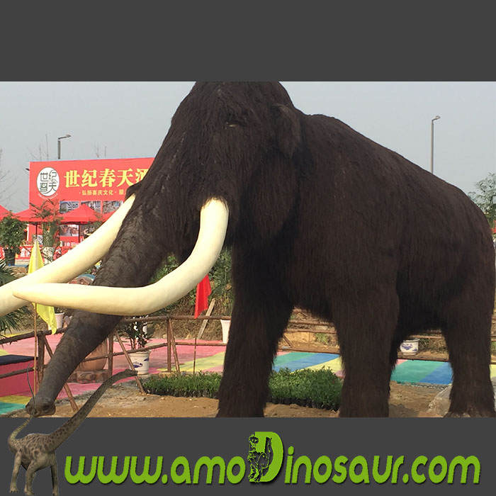 Animatronic animal mamut