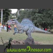 animatronic dinosaur Spinosaurus model with cheapest price